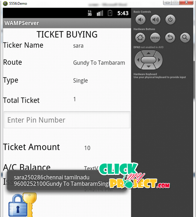 Android Suburban Railway Ticketing with GPS as Ticket Checker