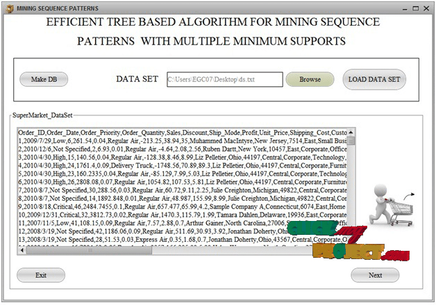 An efficient tree-based algorithm for mining sequential patterns with multiple | 2014 Projects