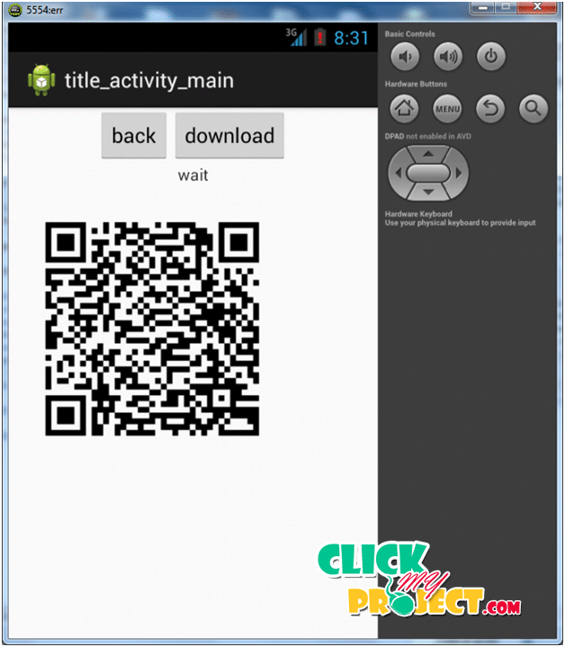 Offline QR Code Authorization Based on Visual Cryptography| 2014 Projects