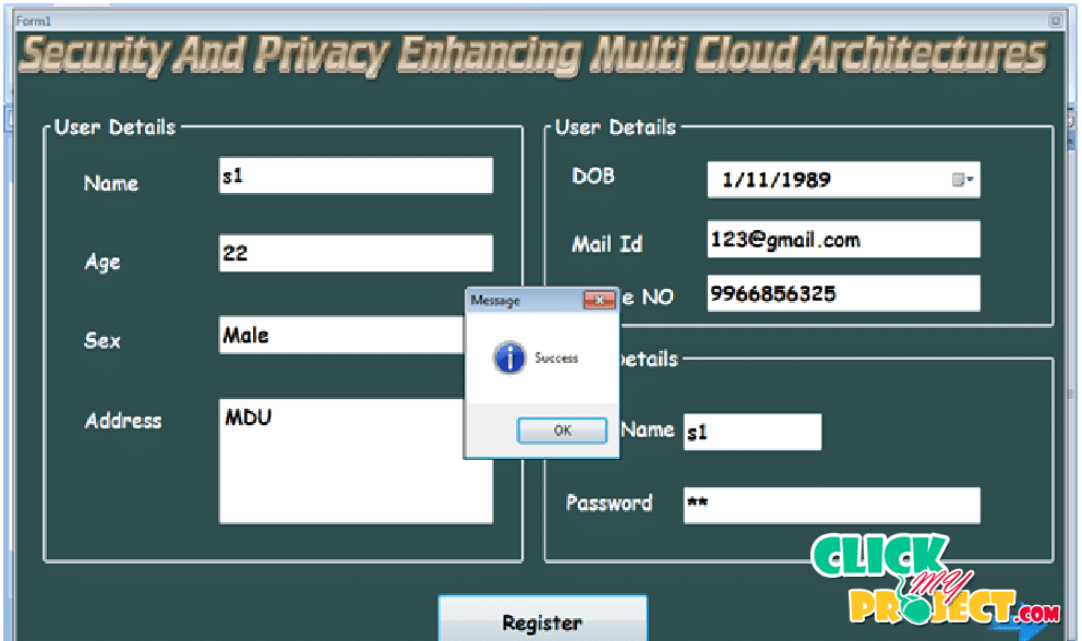 Security and Privacy Enhancing in Multi cloud Architecture| 2014 Projects