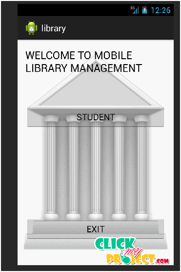 Library management using android| 2014 Projects