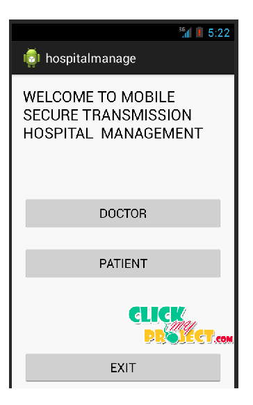 Hospital information management | 2014 Projects