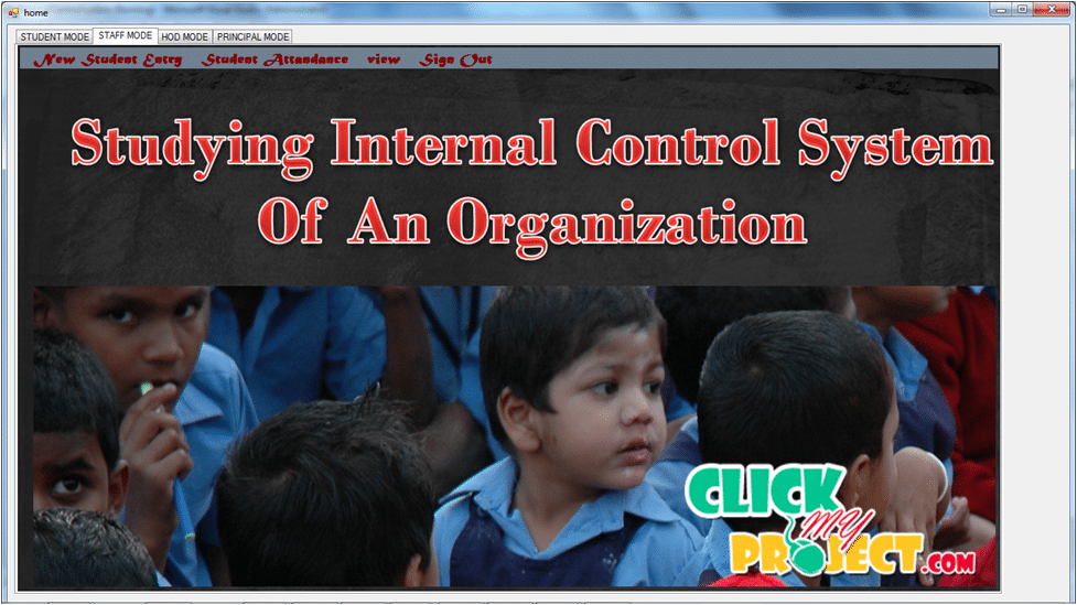 Studying Internal Control System of an Organization