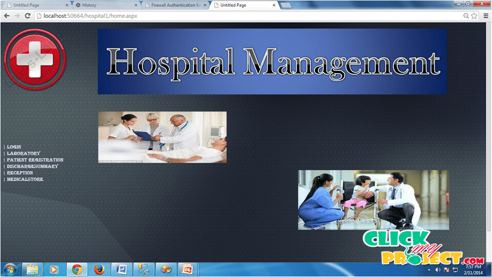 Hospital Management System | 2014 Projects