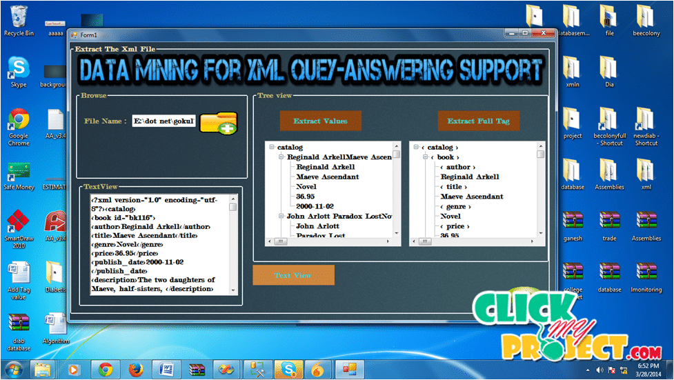 Data Mining for Xml Query-Answering Support | 2014 Projects