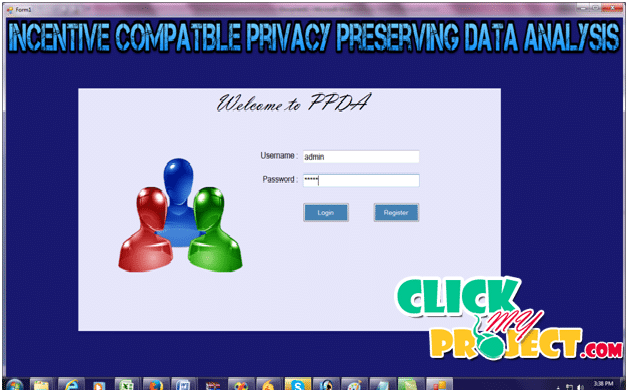 Incentive Compatible Privacy Preserving Data Analysis | 2014 Projects