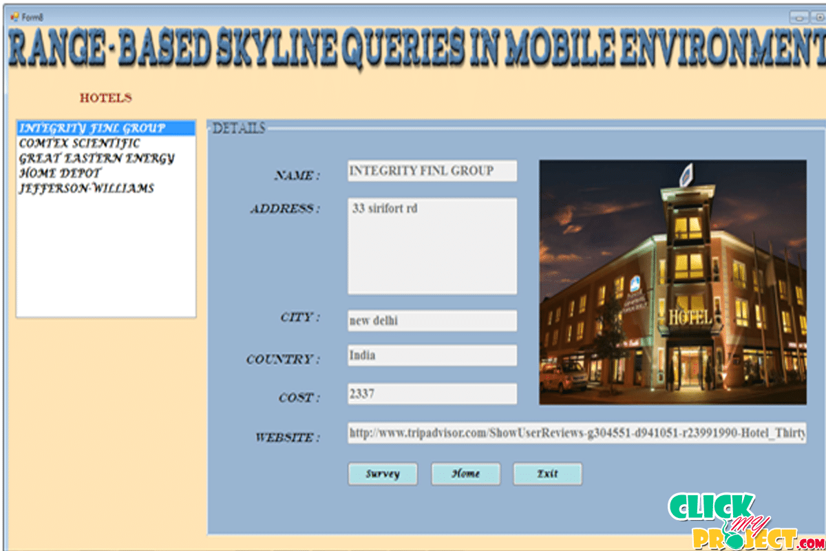 Range-Based Skyline Queries in Mobile Environments| 2014 Projects