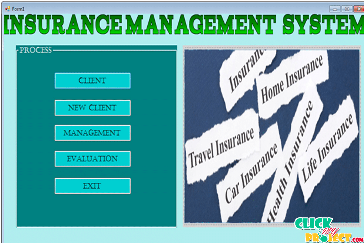 Insurance Management System| 2014 Projects