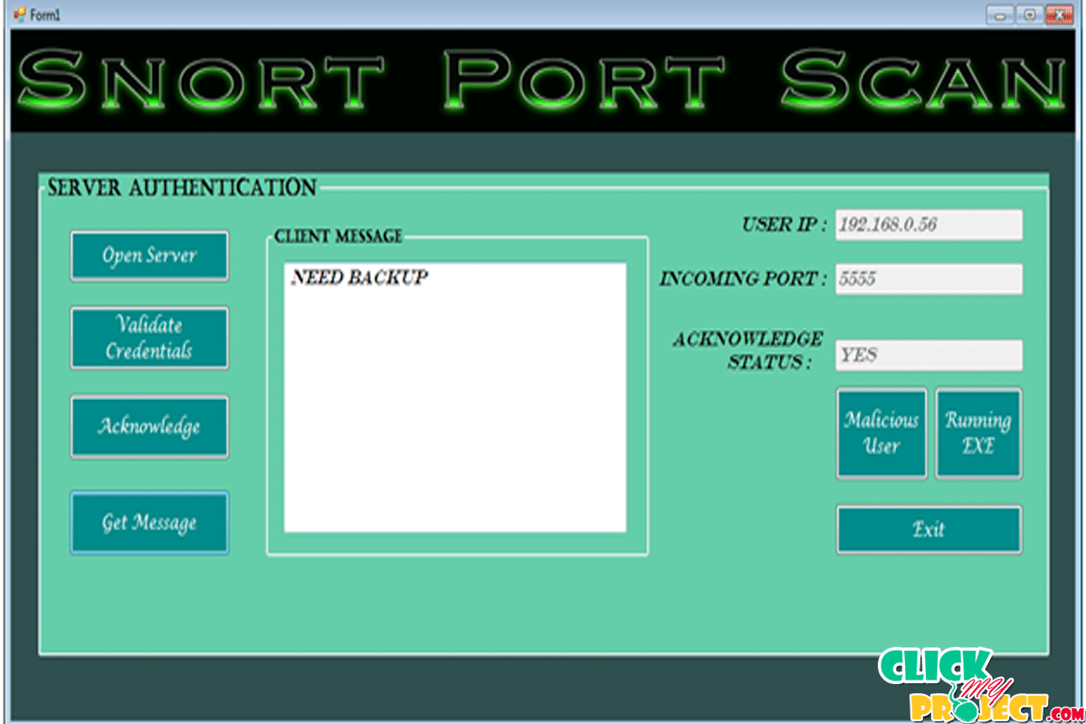 Snort Port Scan | 2014 Projects