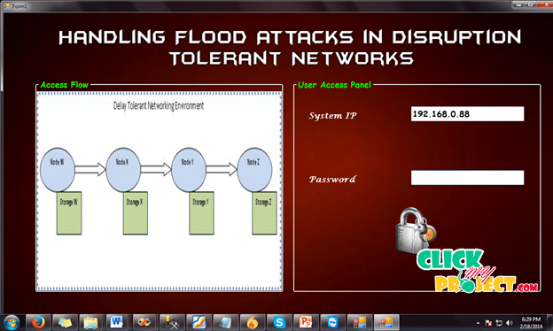 To Lie or t o Comply: Defending against FloodAttacks in Disruption Tolerant Networks| 2014 Projects