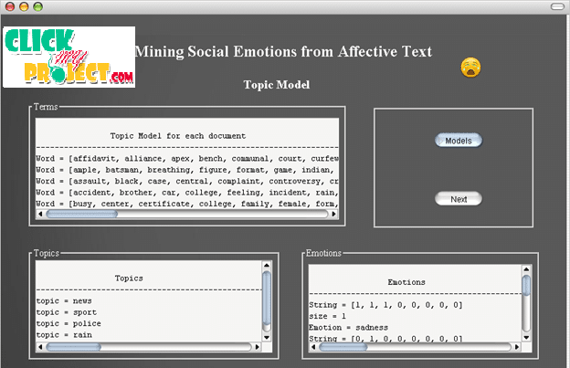 Mining Social Emotions from Affective Text| 2014 Projects