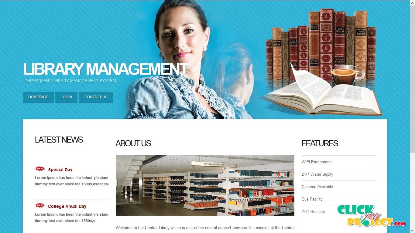 Library management | 2014 Projects