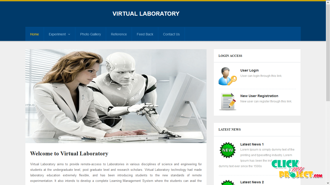 Virtual Lab| 2014 Projects