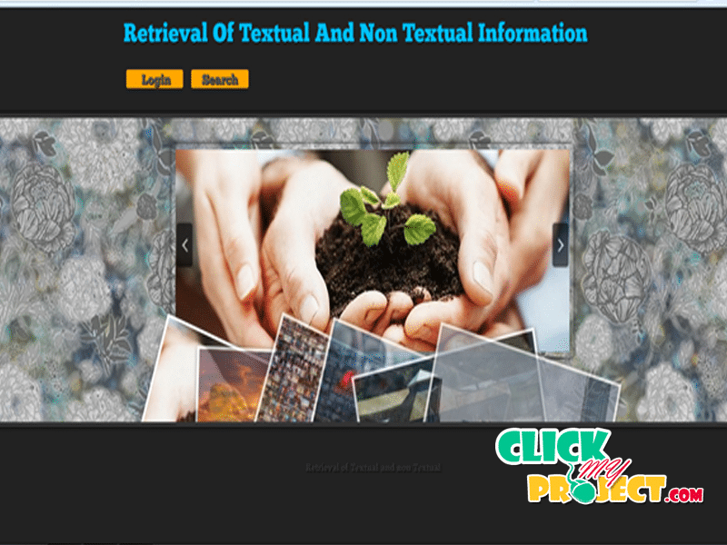 Retrieval Of Textual And Non-Textual Information In Cloud | 2014 Projects