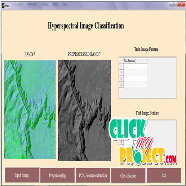 Principal Component Analysis for Hyperspectral Image Classification | 2014 Projects