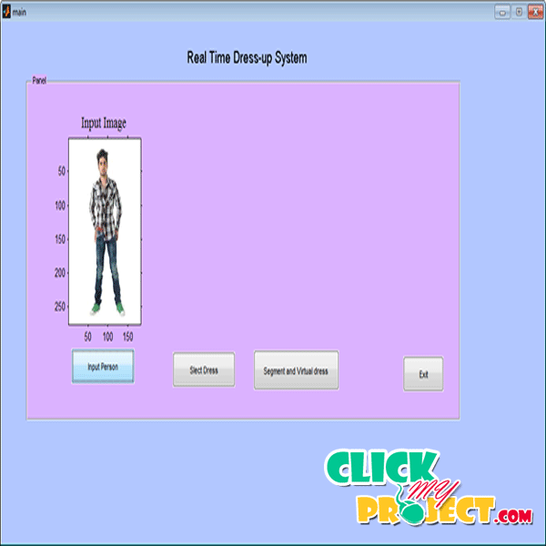 Implementation of Real Time Dress-up System based on Image Blending| 2014 Projects