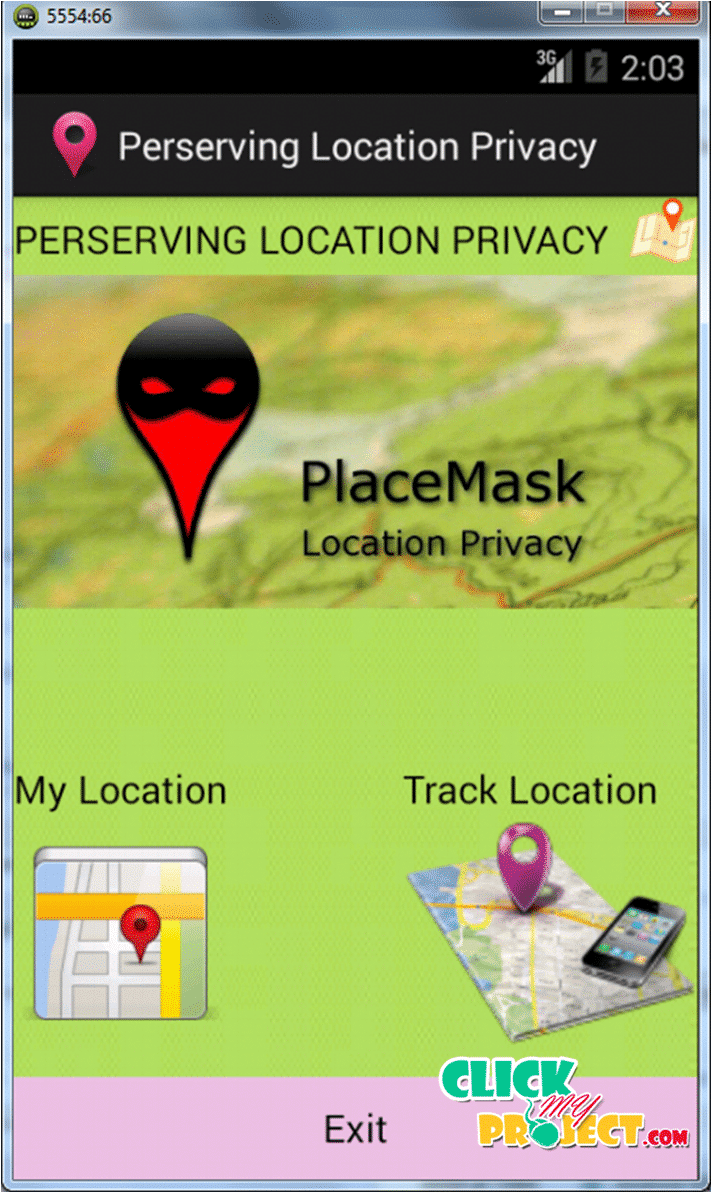 Preserving Location Privacy in Geosocial Applications