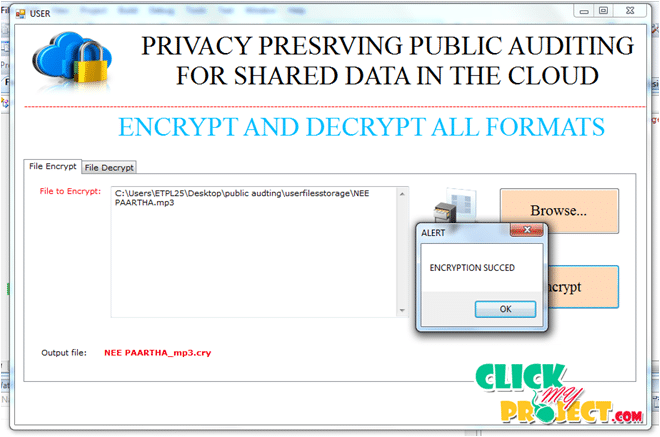 Oruta:Privacy Preserving Public Auditing For Shared Data In The Cloud