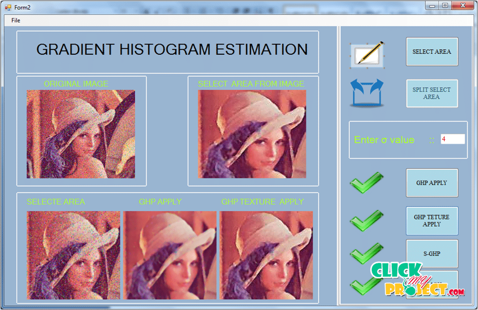 Gradient Histogram Estimation and Preservation for Texture Enhanced Image Denoising