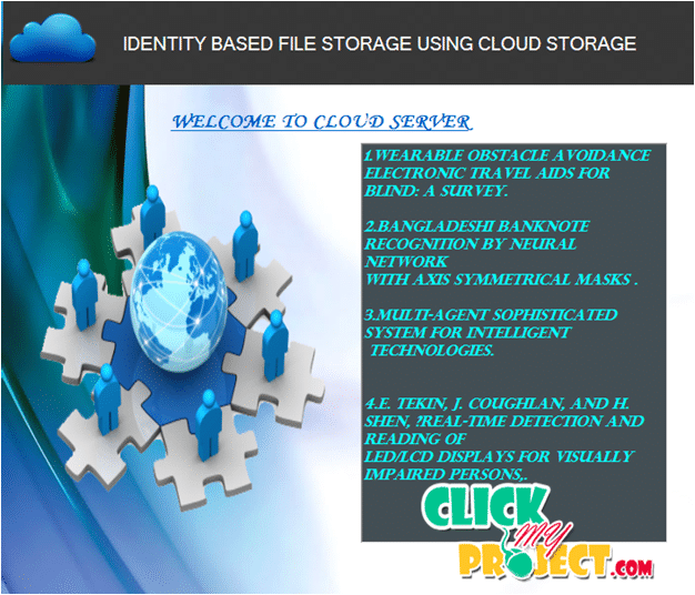 Identity Based Distributed Provable Data Possession in Multi Cloud Storage | 2015 Projects