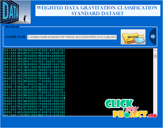 Weighted Data Gravitation Classification for Standard and Imba | 2015 Projects