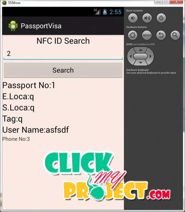 Cloud based secure passport Checking system using android | 2015 projects