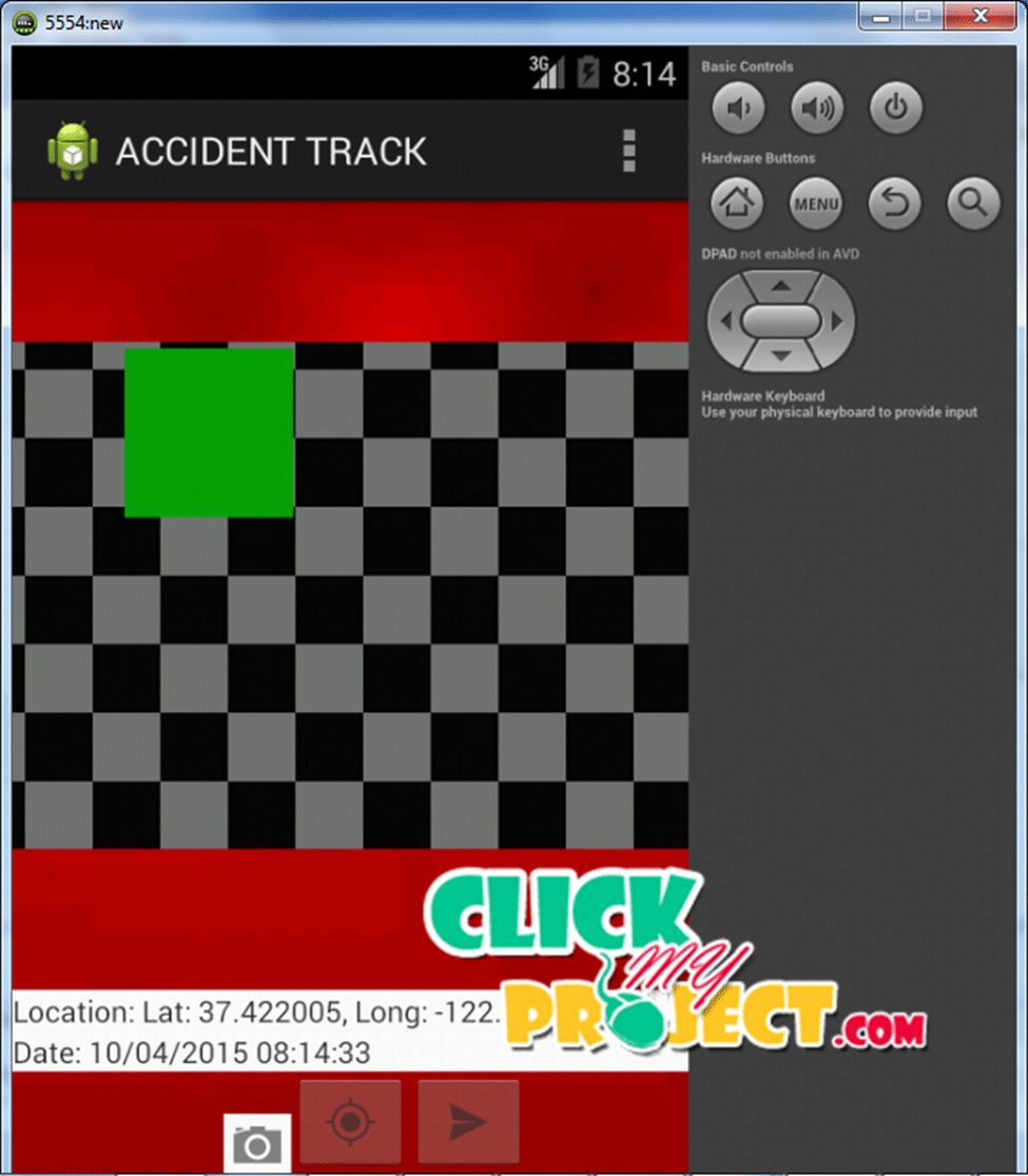 ACCIDENT TRACKING APP FOR ANDROID MOBILE | 2015 projects