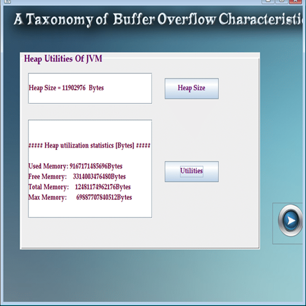 A taxonomy of buffer overflow characteristics