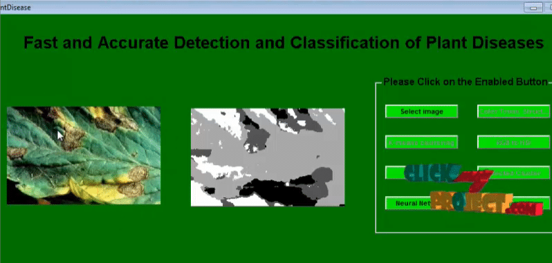 Fast and Accurate Detection and Classification of Plant Diseases
