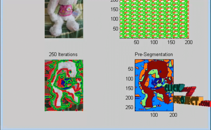 Robust interactive Segmentation using Convex Active Contours