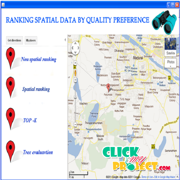 Ranking Spatial Data by Quality Preferences