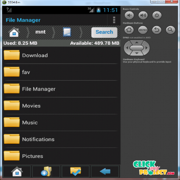 File Manager Application Android