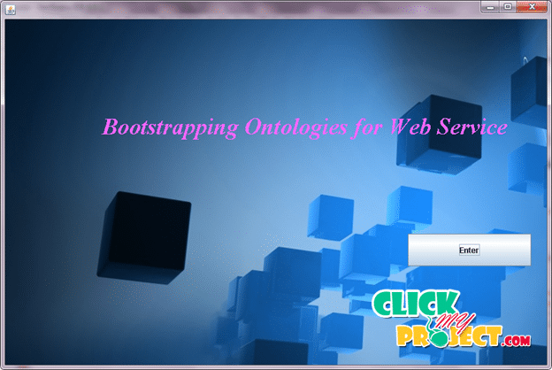 Bootstrapping Ontologies for Web Services