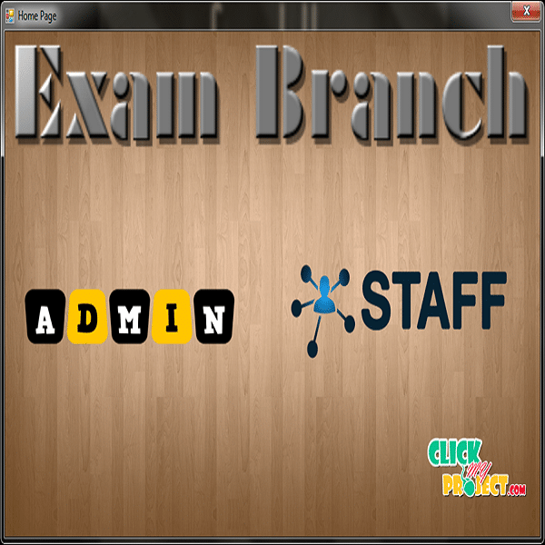 Exam Branch Management System