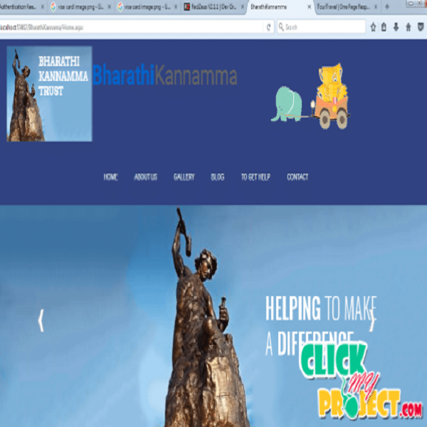 Design and Implementations of Bharathi kannamma Charity Trust