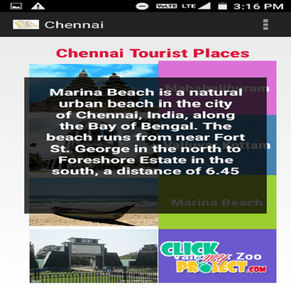 Travel Guide (Android App)