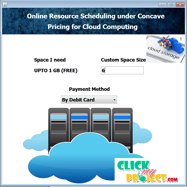 Online Resource Scheduling under Concave Pricing for Cloud Computing