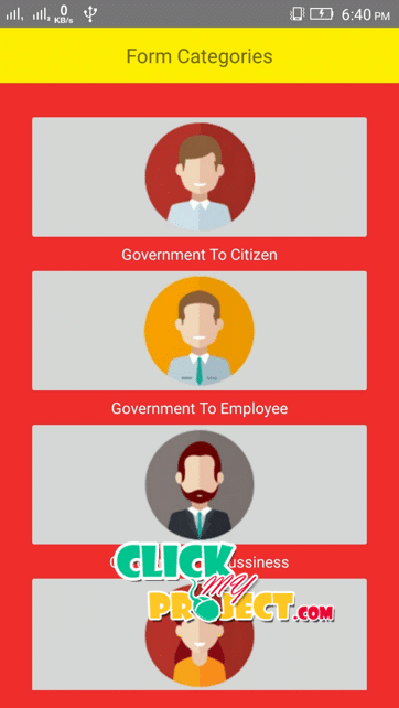 Government Forms Portal