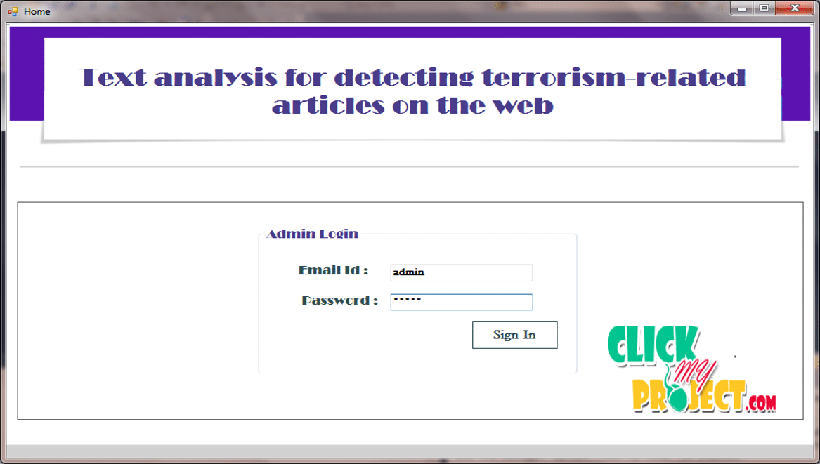 Using Data Mining Techniques for Detecting Terror-Related Activities on the Web